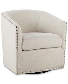 Arman Swivel Chair, Quick Ship