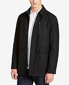 Calvin Klein Men's Big & Tall Wool-Blend Jacket