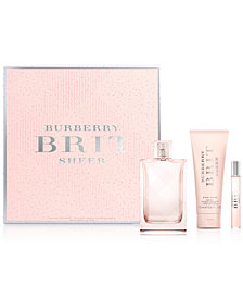 Burberry 3-Pc. Brit Sheer For Her Gift Set