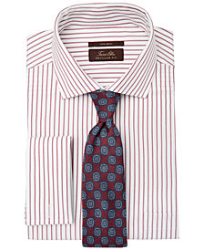 Tasso Elba Men's Stripe French Cuff Dress Shirt & Medallion Tie, Created for Macy's