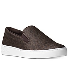 Keaton Slip-On Signature Logo Sneakers