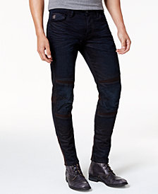 G-Star RAW Men's Motac Deconstructed Moto Jeans
