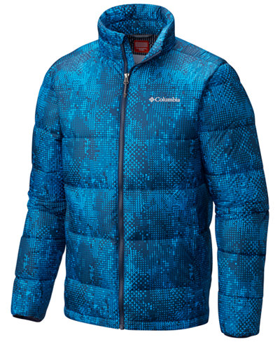 Columbia Men's Rapid Excursion Printed Insulated Jacket