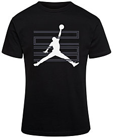 Jordan Lock-Up Graphic-Print Cotton T-Shirt, Big Boys