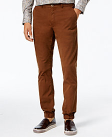 Tallia Men's Vicuna Slim-Fit Stretch Jogger Dress Pants