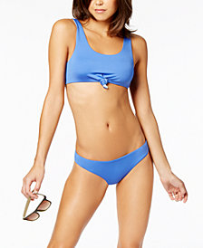 Dolce Vita Reversible Cropped Bikini Top & Reversible Cheeky Bottoms