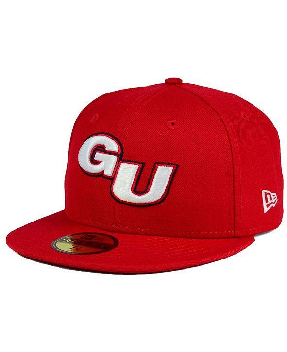 New Era Gonzaga Bulldogs AC 59FIFTY Fitted Cap