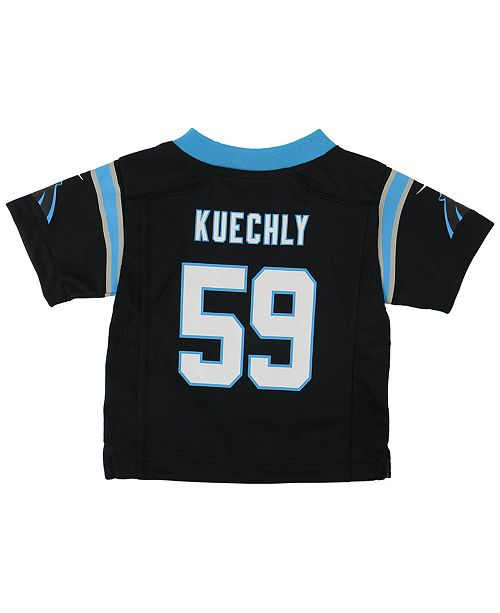 Nike Luke Kuechly Carolina Panthers Game Jersey aca2f08eb
