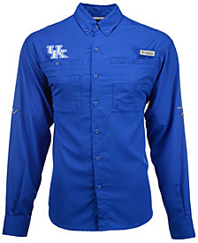 Columbia Men's Kentucky Wildcats Tamiami Long Sleeve Button-Down Shirt