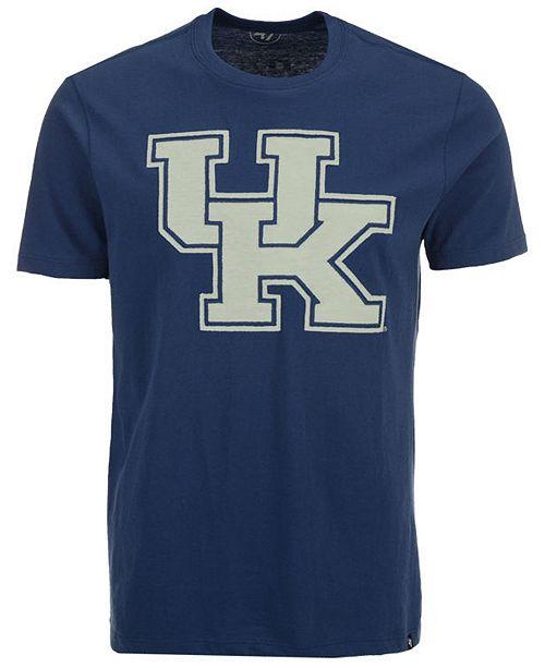'47 Brand Men's Kentucky Wildcats Knockout Fieldhouse T-Shirt