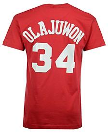 Men's Hakeem Olajuwon Houston Rockets Hardwood Classic Player T-Shirt