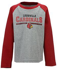 Outerstuff Louisville Cardinals Field Line Long Sleeve T-Shirt, Little Boys (4-7)
