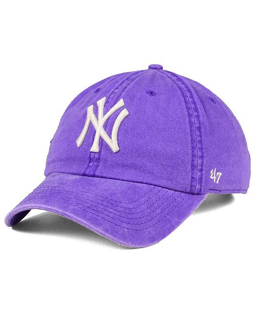 '47 Brand New York Yankees Summerland CLEAN UP Cap