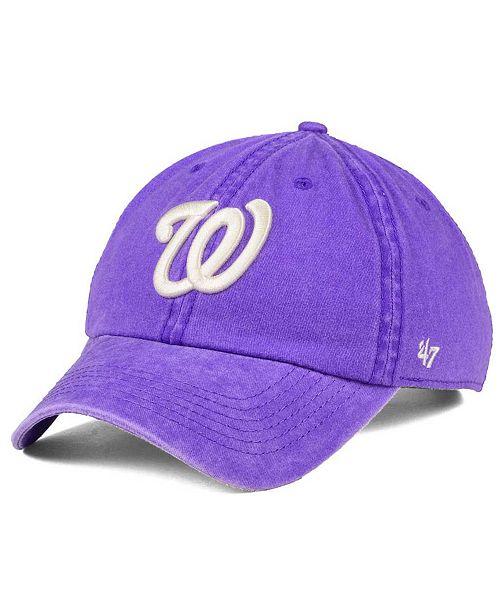 '47 Brand Washington Nationals Summerland CLEAN UP Cap