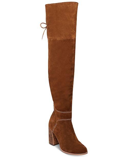 387b94129c2 Steve Madden Women s Novela Over-The-Knee Boots   Reviews - Boots ...