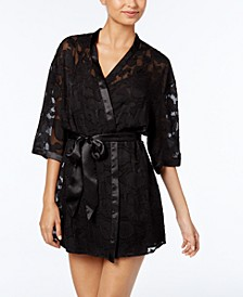 Brielle Jacquard Wrap Robe