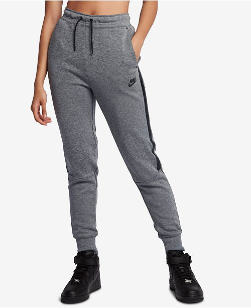 Nike Tech Fleece Sweatpants - Pants   Capris - Women - Macy s 898aaf2db2