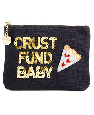 Bow & Drape Crust Fund Baby Pouch