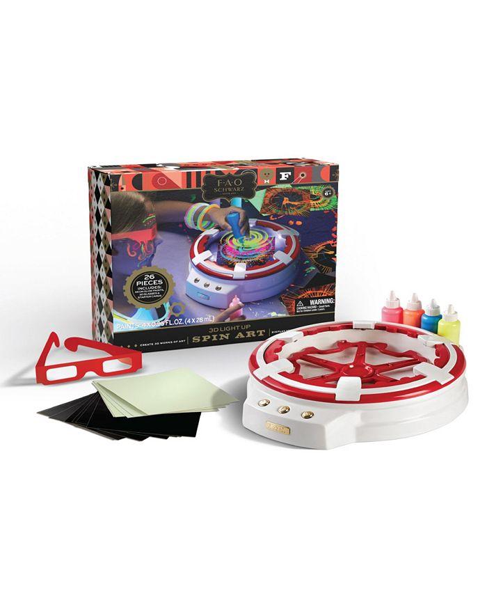 FAO Schwarz - LED 3D Spin Art