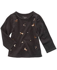 First Impressions Unicorn-Print Cotton T-Shirt, Baby Girls, Created for Macy's