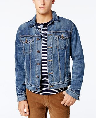 Tommy Hilfiger Men's Classic Denim Jacket - Coats & Jackets - Men ...