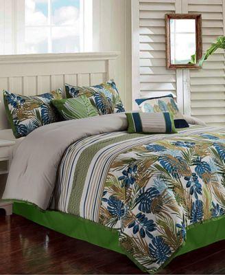Oliana 7-Pc. Full Comforter Set