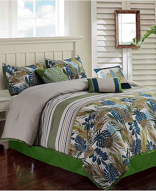 Hallmart Collectibles Oliana 7-Pc. King Comforter Set
