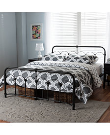Tarryn Metal Bed Collection, Quick Ship