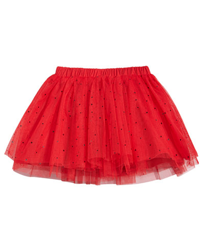 First Impressions Dot Print Tutu Skirt Baby Girls Created For Macys