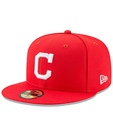 New Era Boys' Cleveland Indians Players Weekend 59FIFTY Fitted Cap