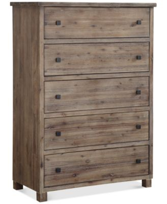 canyon 5 drawer chest created for macyu0027s