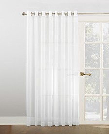 "No. 918 100"" x 84"" Extra-Wide Sheer Voile Grommet Patio Curtain Panel"