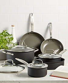 GreenPan Chatham 10-Pc. Ceramic Non-Stick Cookware Set