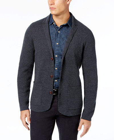 Tommy Bahama Men's Wool Cardigan Blazer - Sweaters - Men - Macy's