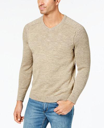 Tommy Bahama Men's Gran Rey Reversible V-Neck Sweater