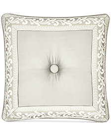 "J Queen New York Le Blanc 20"" Square Decorative Pillow"