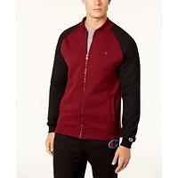 Macys deals on Champion Men's Powerblend Fleece Bomber Jacket