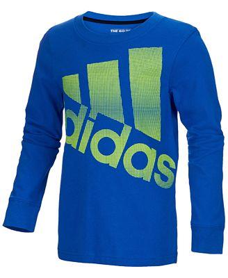 adidas Future Graphic-Print Cotton Shirt, Little Boys