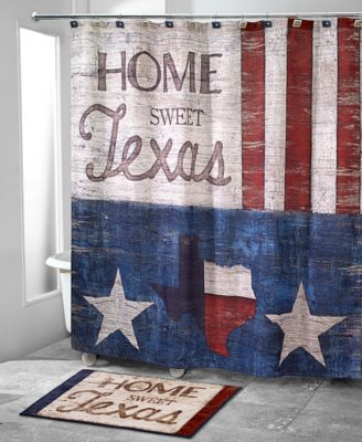 Home Sweet Texas Shower Curtain