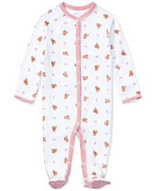 Ralph Lauren Baby Girls Print Coverall