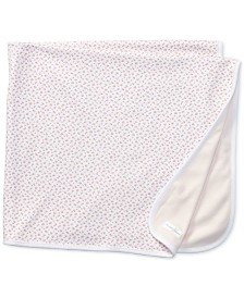 Ralph Lauren Baby Girls Reversible Floral Blanket