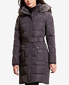 Lauren Ralph Lauren Faux-Fur Down Coat