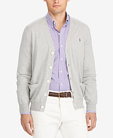 Polo Ralph Lauren Men's Regular-Fit V-Neck Cardigan