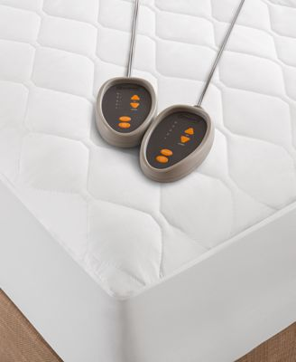 Quilted Queen Heated Mattress Pad
