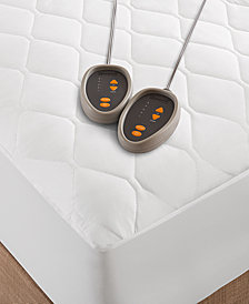 Beautyrest Quilted Queen Heated Mattress Pad