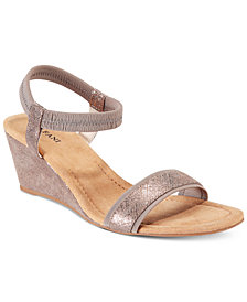 Alfani Women's Giselle Wedge Sandals, Created for Macy's