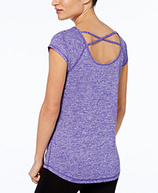 Ideology Strappy-Back T-Shirt, Created for Macy's