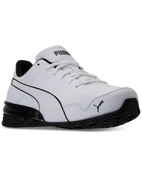 PUMA Mens Super Levitate Sneaker White 9.5 M US