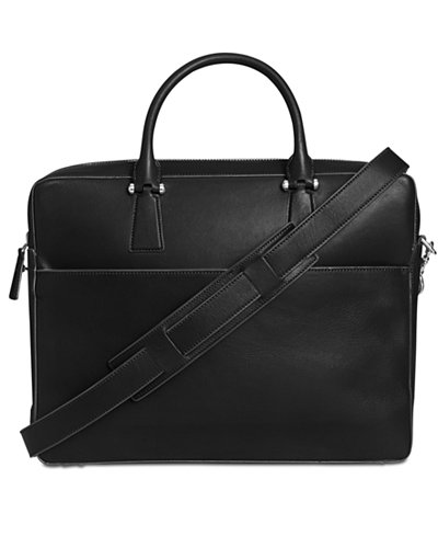 Cole Haan Men's Washington Grand Leather Attache Case