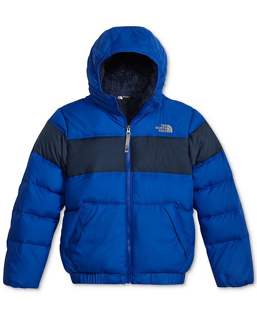 df8ff8ce5 The North Face Moondoggy 2.0 Hooded Puffer Jacket, Little Boys & Big ...